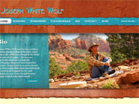 joseph white wolf, Spiritual Teacher, Land Tours, Sedona AZ