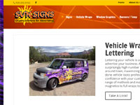 sun signs sign maker in Sedona AZ